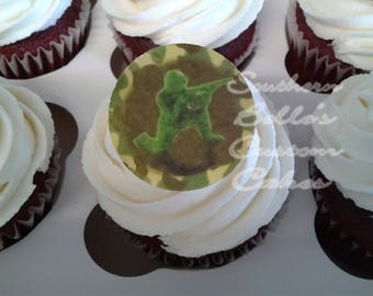 Edible Record Cake Cupcake or Cookie Topper ED139JPWEdible