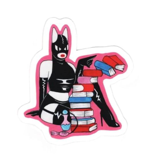 Internet Novice x Perfume Drinker naughty kitty stickers ヾ(*ΦωΦ)ノ