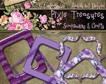 PART ONE Purple Frames Set