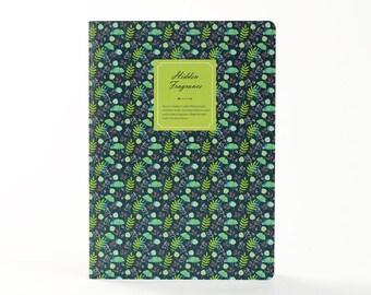 Hidden Fragrance | Dark Green and Blue