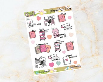 Planner Girl To dos - Stickers