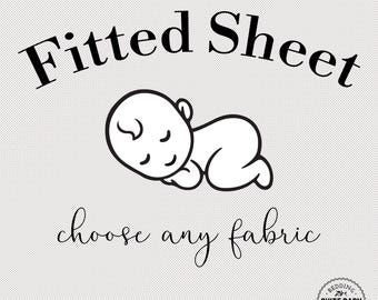 Fitted Crib Sheet. Choose Any Fabric. Crib Sheet. Baby Bedding. Toddler Sheet. Baby Shower Gift. Organic Sheets. Minky Sheets. Custom Sheet.