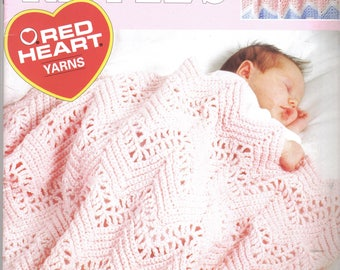 Baby Ripples ~ crochet book by Leisure Arts ~  soft cover book