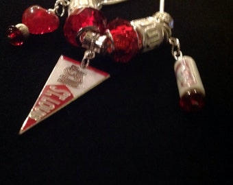 I 'Heart' the St. Louis Cardinals Charm Necklace