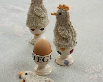 Little Chick Egg Cosies Knitting Kit