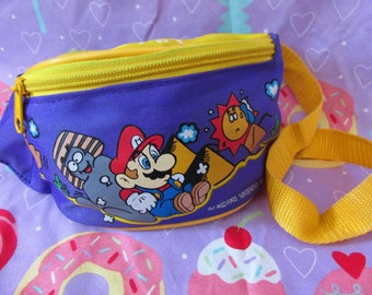 30% OFF! 1993 Rare Nintendo Mario in Egypt Fanny Pack