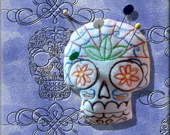 Pin Cushion, Skull, Day of the Dead, Pincushion