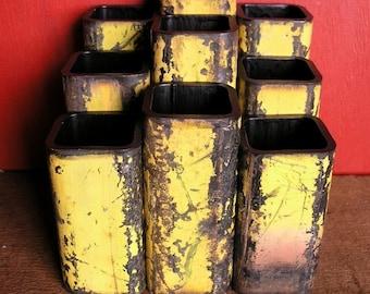 Reclaimed Square Pipe Vase