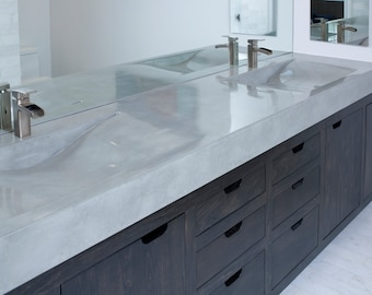 Concrete Vanity Sink