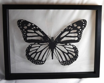 DIY Paper Cutting Template - Butterfly - A4 PDF Download with Instructions. Cut it Yourself!