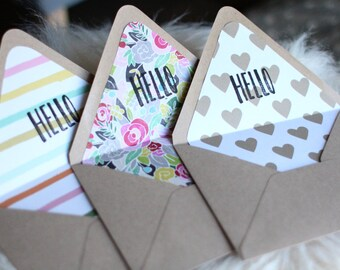 Lined Envelope