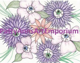 eyeballs in bloom