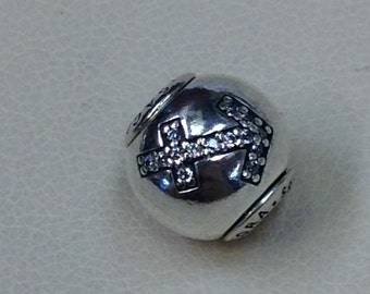 Authentic Pandora Essence Collection Silver Charm #Sagittarius #796042CZ