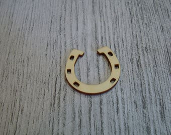 Horseshoe wooden Littles 1400 embellishment