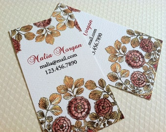 Personalized Business Calling Cards - Set of 50