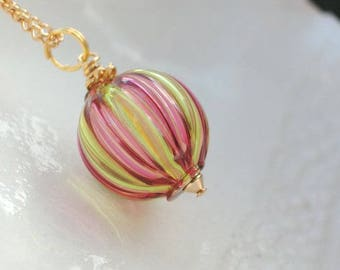 Murano Mini Blown Glass Necklace