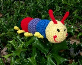 Amigurumi Caterpillar : Amigurumi caterpillar crochet caterpillar amigurumi insect