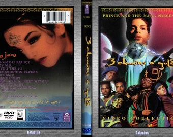 PRINCE 3 Chains O Gold dvd film