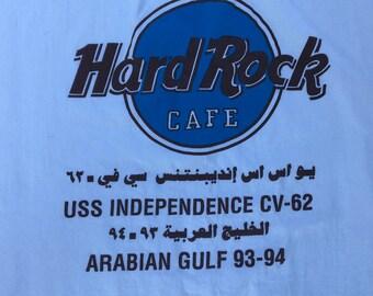 Hard Rock Arabian Gulf Tee Shirt 1993