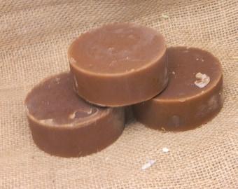 Encens et myrrhe chèvres lait savon à raser 5 oz