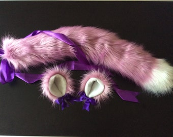 Kitten play set Tail & Ears