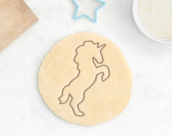 Unicorn Cookie Cutter – Baby Cookie Cutter Baby Shower Cookie Cutter Baby Shower Gift Baby Shower Favors Horse Cookie Cutter Unicorn Bust