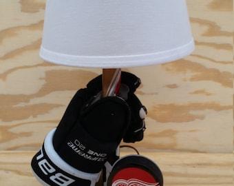 Personalized Hockey Lamp