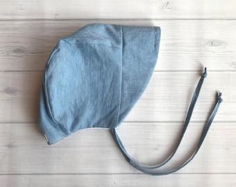 Blue Denim Sun bonnet