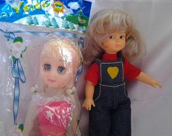 "Vintage Playmates ""Shelley"" Doll or Blonde Plastic Yono Doll"
