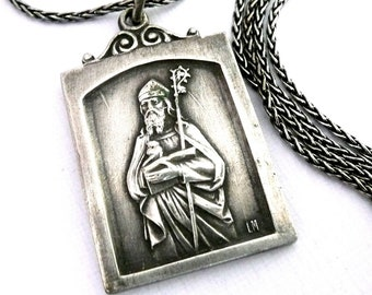 Saint Augustine of Hippo Necklace