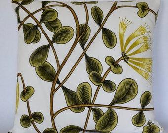 "Marimekko Pillow Cover, Handmade, Pattern ""Kuusama"" 18""x18"" (45x45cm)"
