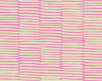 LINES in Pink Maker Maker by Sarah Golden for Andover Fabrics