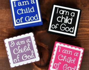 I Am a Child of God Vinyl {Pack of 25}