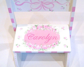 Shabby Chic Step Stool