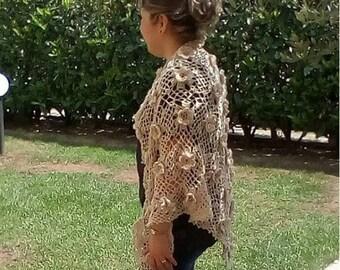 CROCHET PATTERN SHAWL women shawl  Josephine Shawl crochet pdf pattern Instant Download lace shawl for wedding braidsmaid Shawl