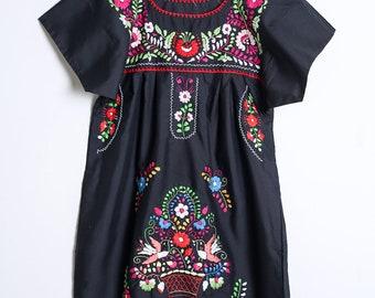 Black Mexican dress