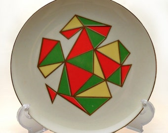 Groovy Vintage Plates from Japan