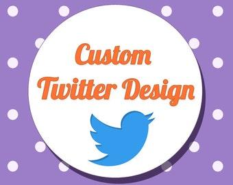 Custom Twitter Header Image Design / Twitter Banner / Twitter Cover Photo
