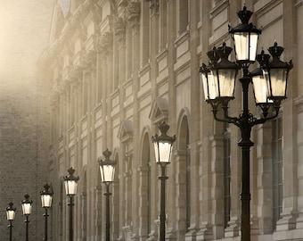 "Paris Photography, ""Last Light"" Paris Print Extra Large Wall Art Prints, Paris Wall Decor"
