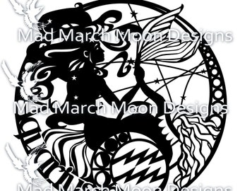 Zodiac BUNDLE 4 Papercut commercial TEMPLATES .PDF download