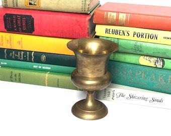 Vintage Solid Brass Flower/Bud Vase