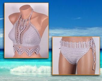 Crochet bikini, Swimsuit, Summer trends by LoveKnittings