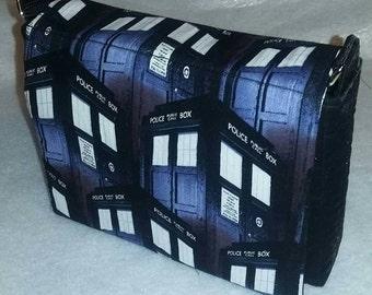 Doctor Who TARDIS Handbag (repeat pattern)