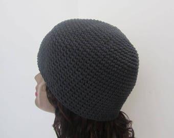 Winter Beanie Gray Beanie Hat Skullcap ~Ready to Ship~