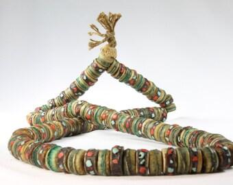 Tibetan Prayer Mala Bone Beads OLD (10)