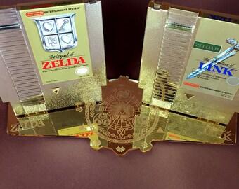 The Legend of Zelda NES Cartridge Display Stand