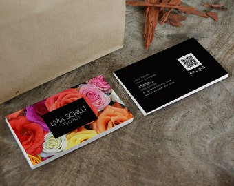 Livia double sided business card - Instant download