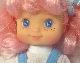 Vintage 1994 Cititoy Pink Haired Star eyed Doll