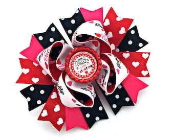 Valentine Bow, Valentine Girl, Valentine Baby, Valentine Toddler, Valentine Accessory, Valentine Infant, Valentine Newborn,Valentine Hairbow