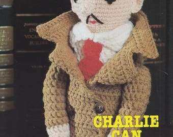 Charlie Can, Annie's Attic Crochet Super-Sleuths Pattern Leaflet 87M06